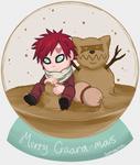 Christmas 'Sand' Globe