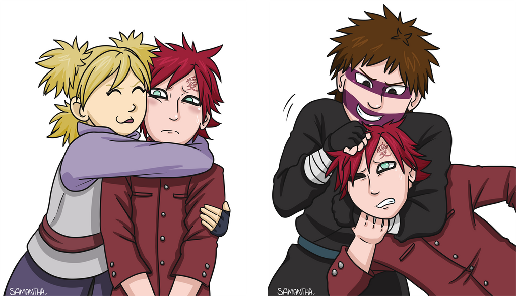 Little Brother [Gaara Week 2018] by Sandy--Apples on ... Gaara And Kankuro Brothers