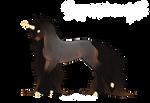 [F441] Boucle Foal Design - Cassiopeia