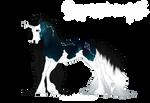 [N433] Boucle Unicorn Foal Design - Nightingale