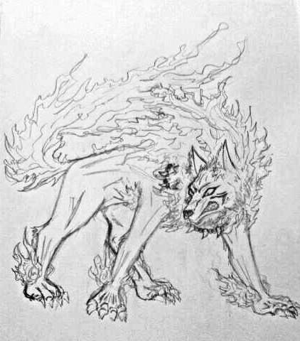 InuYasha demon dog form by DarkKingM on DeviantArt Inuyasha Full Demon Form Dog Episode