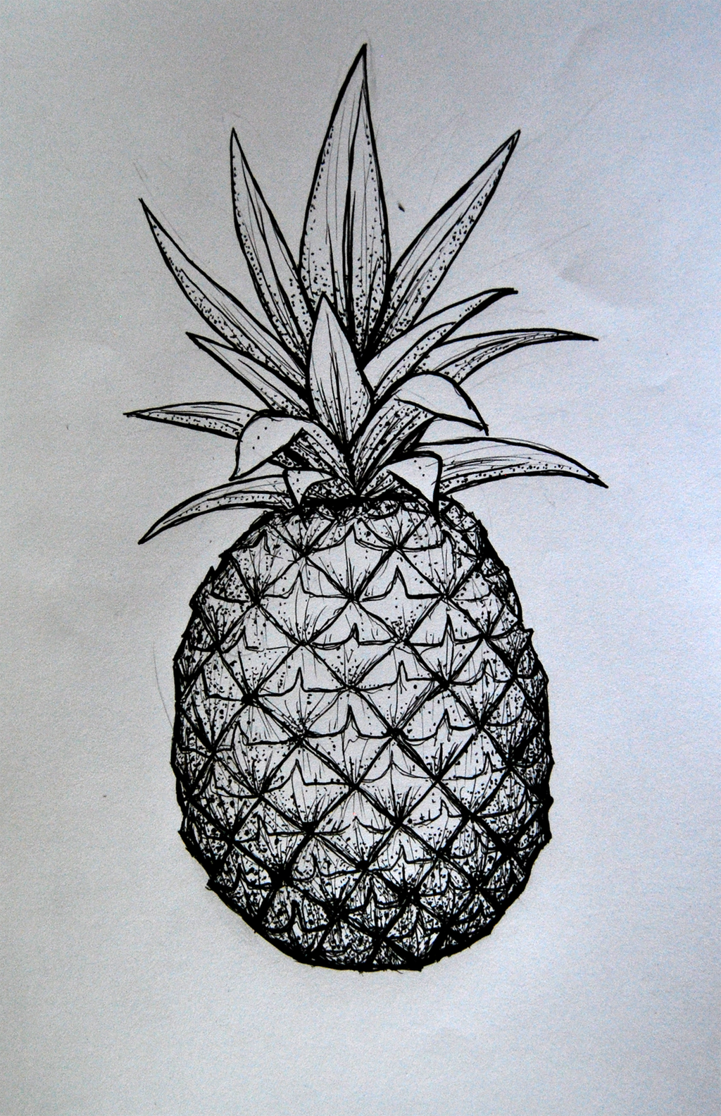 pineapple tattoo by herzlose on deviantart. Black Bedroom Furniture Sets. Home Design Ideas