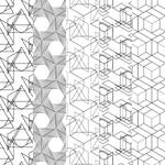Freebie: 25 Free Unique Abstract Geometric Pattern