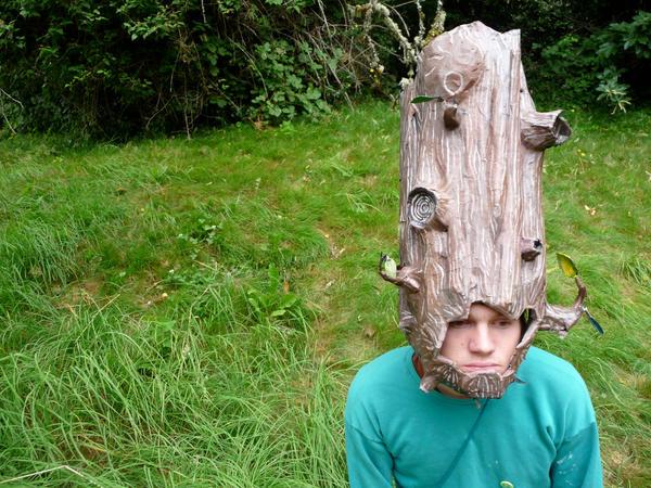 Stump Helmet by Beep-Boop