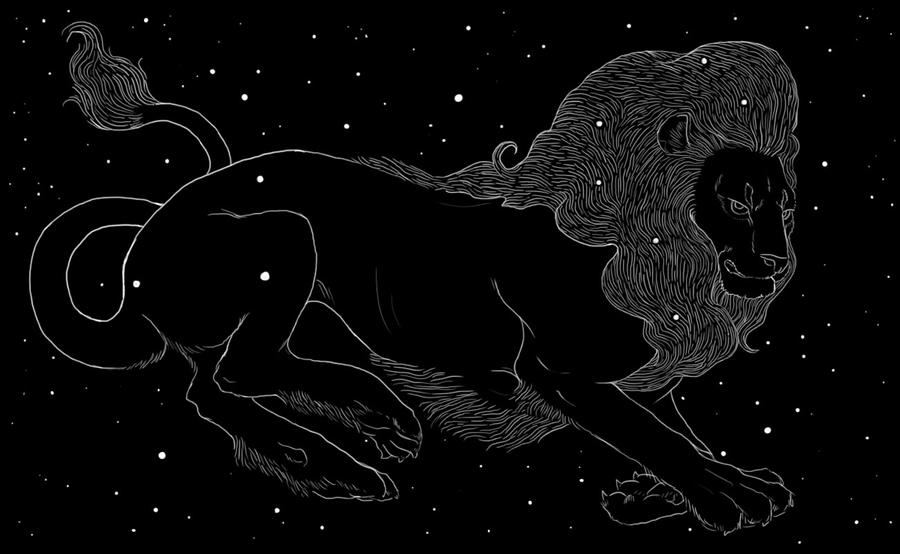 Leo Constellation by reneenjacobs on DeviantArt