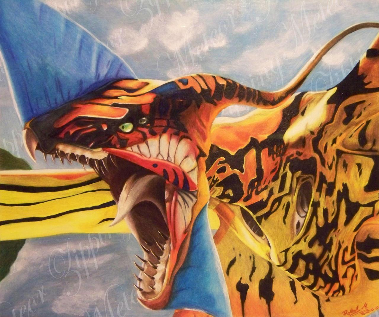 Avatar Dragon: Great Leonopteryx By ZippingMeteor On DeviantArt
