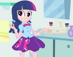 Equestria girls - Twilight Sparkle - shaving time