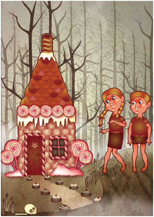 Hansel and Gretel by cheerful-cherub