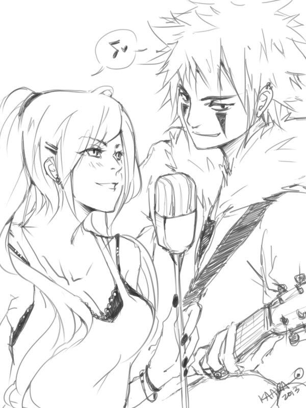 Naruto - RocknRoll Babies by Kaara