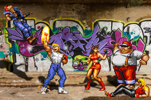 Real Bits - Streets of Rage: Brawl by VictorSauron