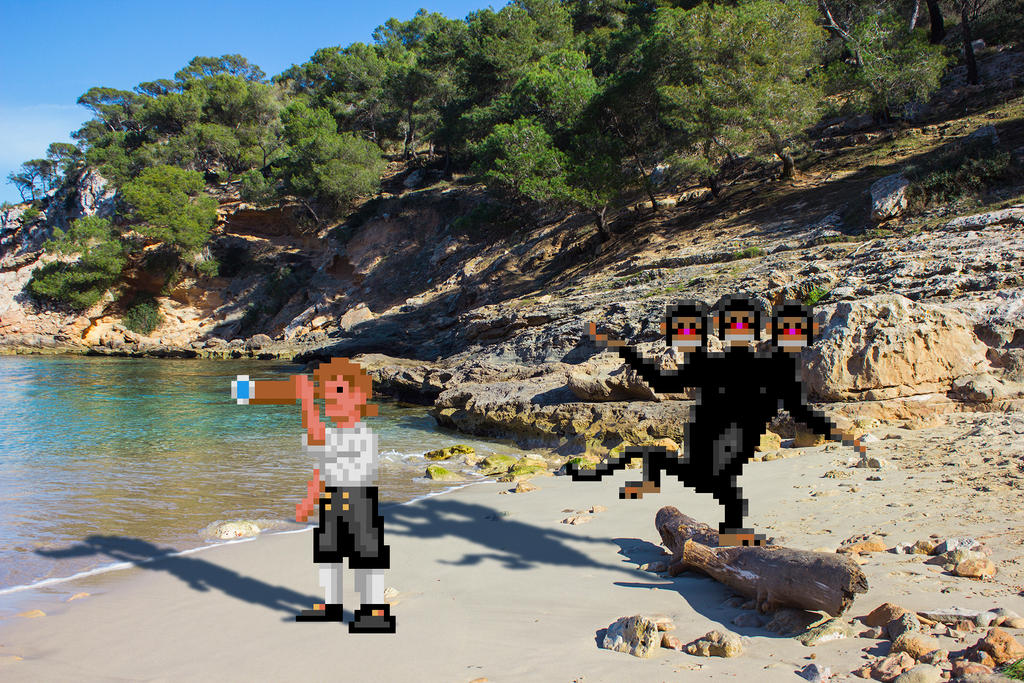 Real Bits - The Secret of Monkey Island