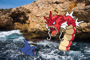 Real Bits - Pokemon: Sea battle by VictorSauron
