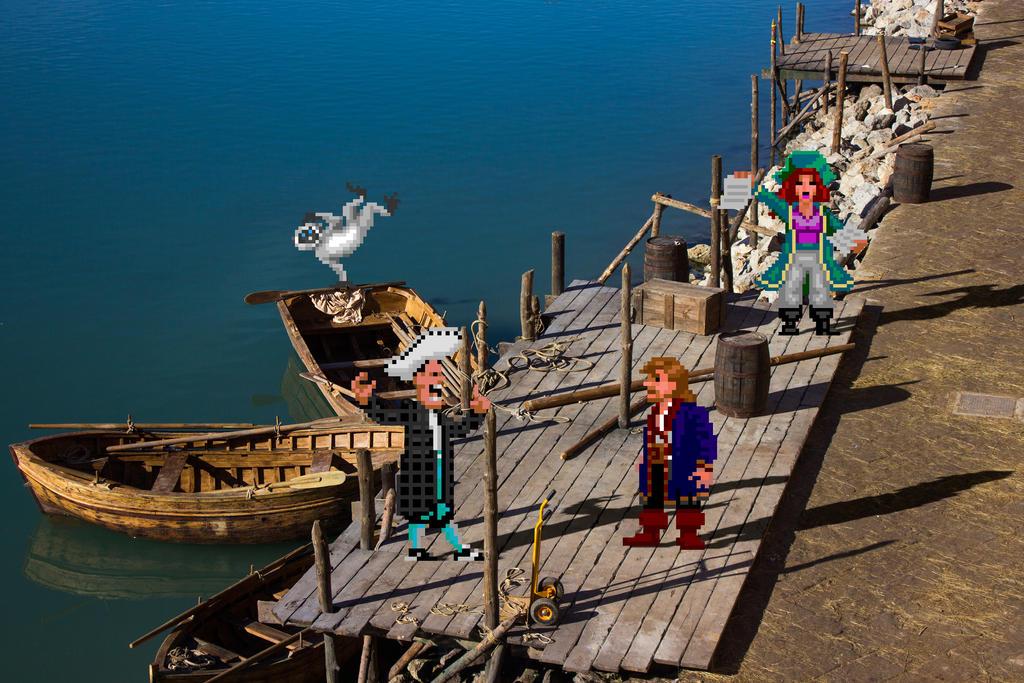 Real Bits - Monkey Island 2 LeChuck's Revenge by VictorSauron