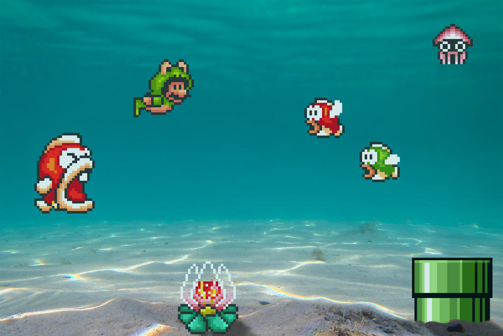 Real Bits - Super Mario Bros 3: Seabed