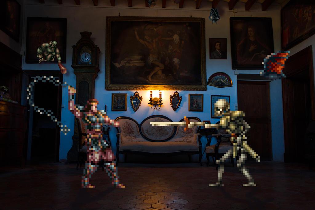 Real Bits - Castlevania: Haunted Room by VictorSauron