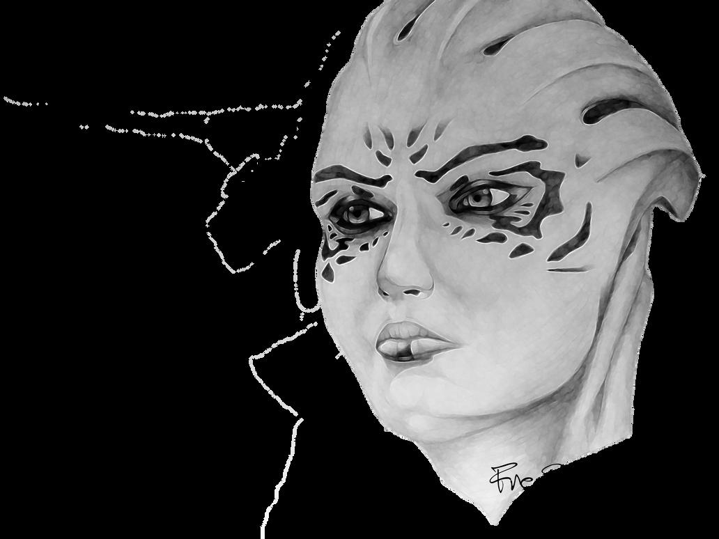 Mass Effect Shiala Manipulation In Photoshop By Freedunhill On Deviantart