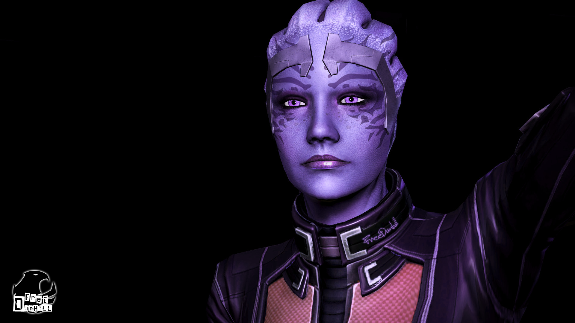 What If Liara Had More Facial Markings By Free Dunhill Masseffect