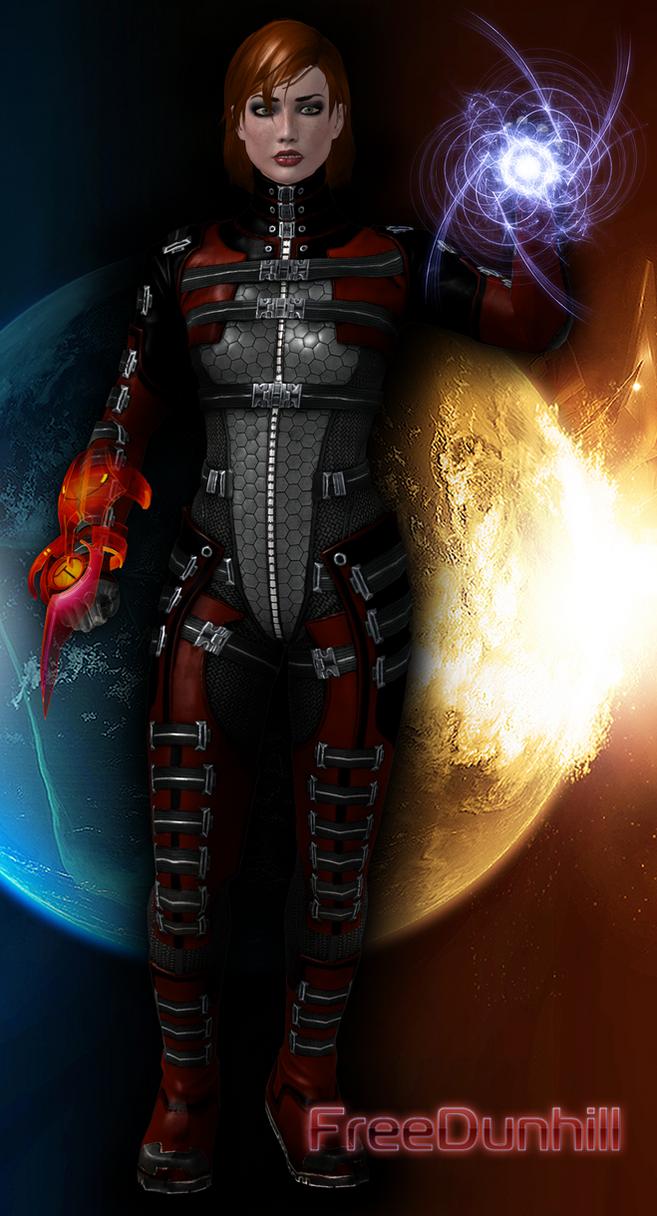Mass Effect 3 Fem Shepard by FREEDUNHILL