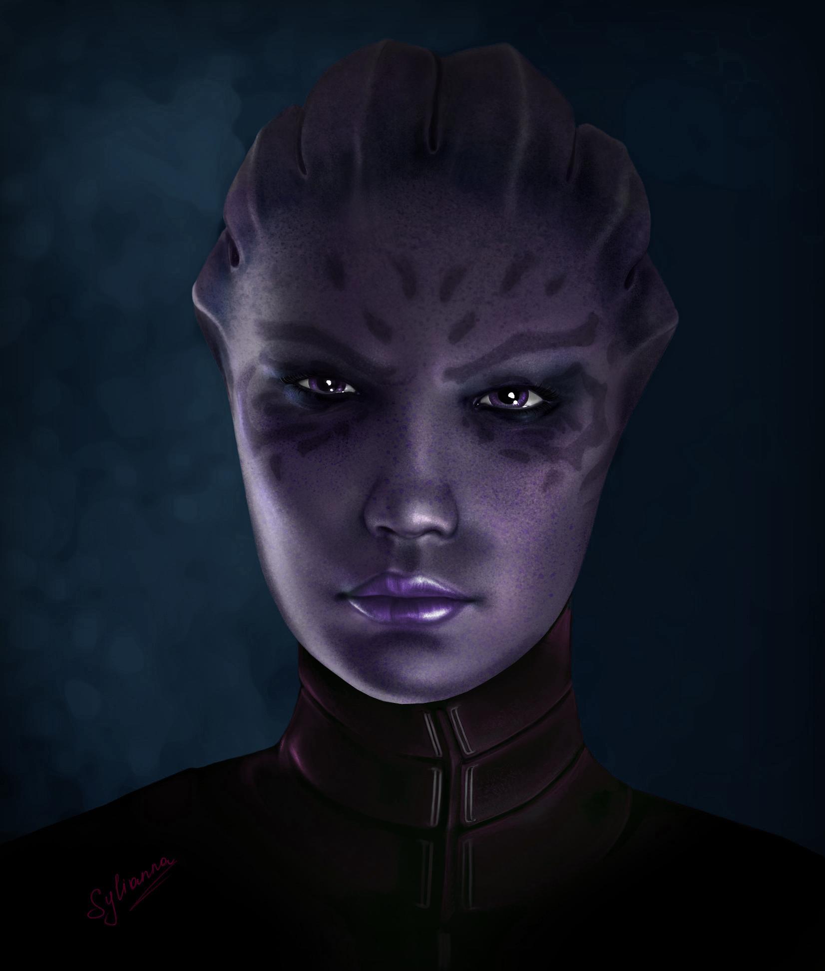 Mass Effect Shiala by Sylianna84 by FREEDUNHILL