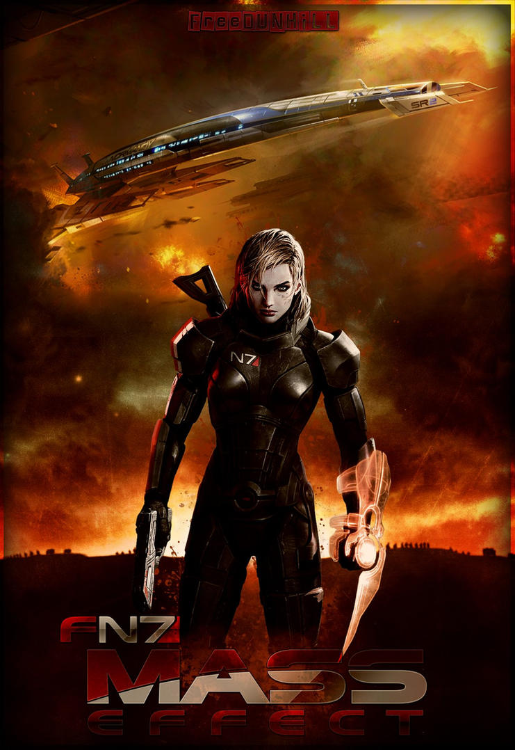 Mass Effect Female Shepard by FREEDUNHILL