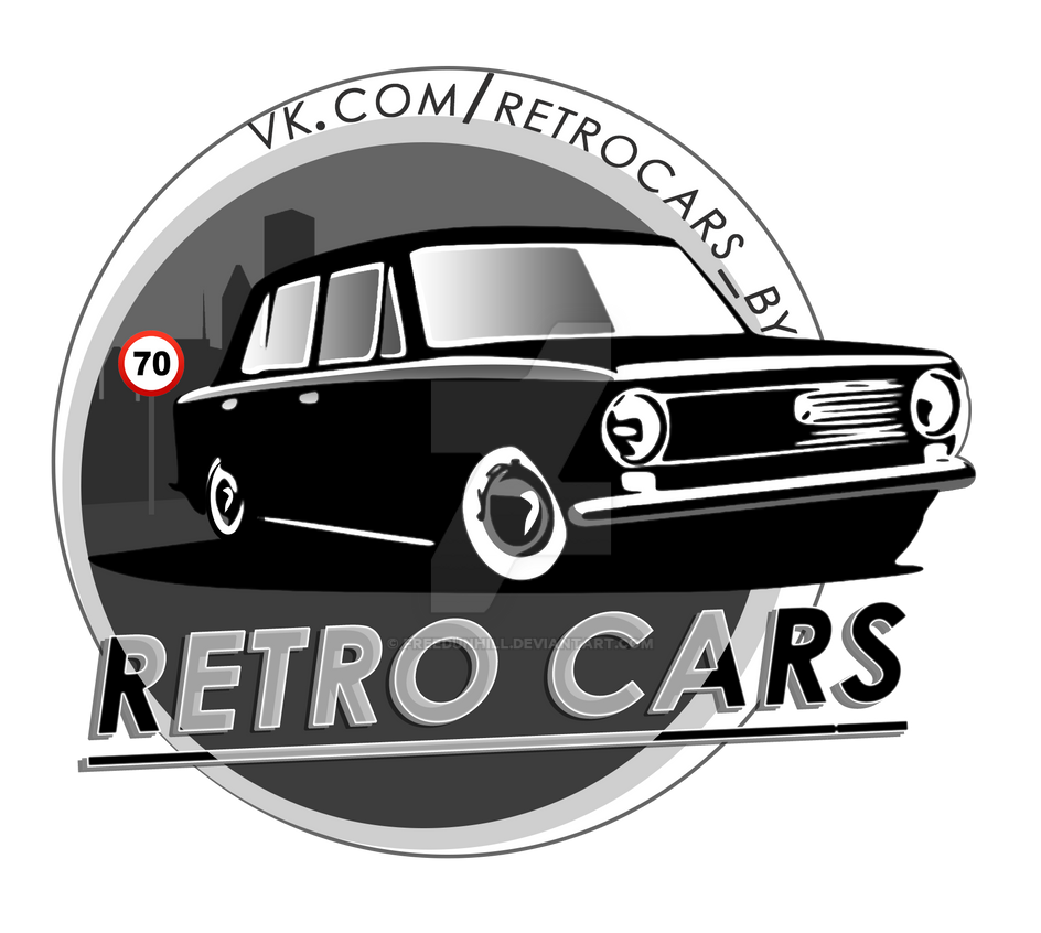 Logo - Retro Cars by FREEDUNHILL