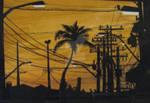 Power Sunset in Brazil   .2011