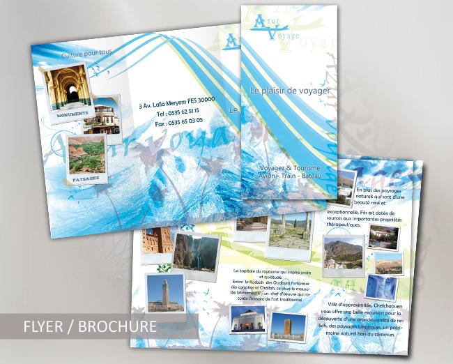 Brochure Travel agency by Jadknight