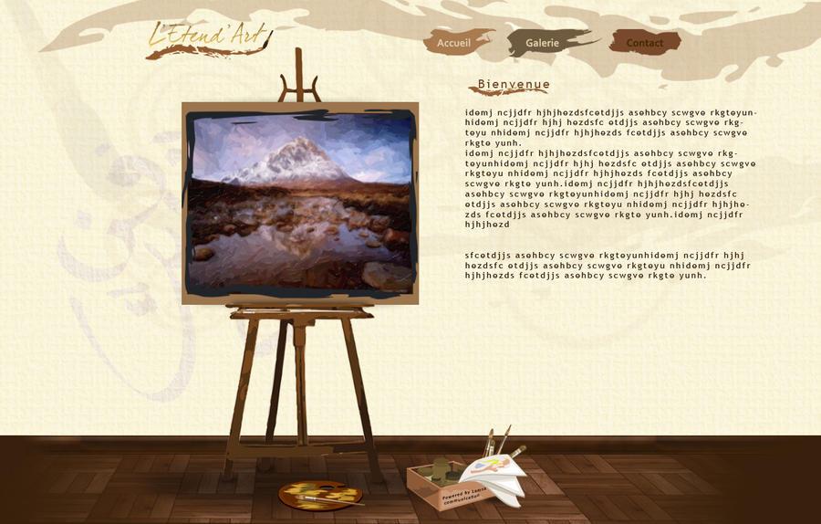 art gallery website – Clipart Download