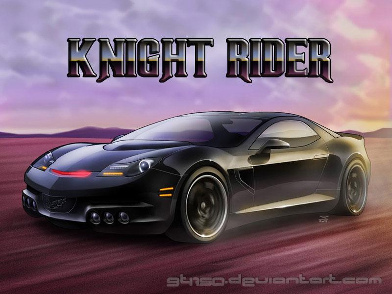 KnightRider Kitt Art by gt1750