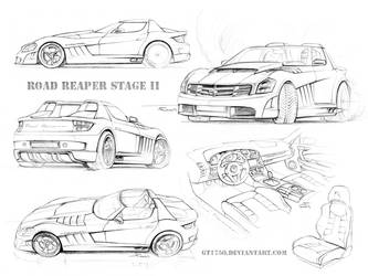 Road Reaper S2 sketches by gt1750