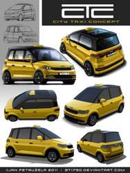 City Taxi Concept V2 Exterior