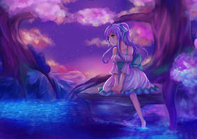Rest at the water by misuuri