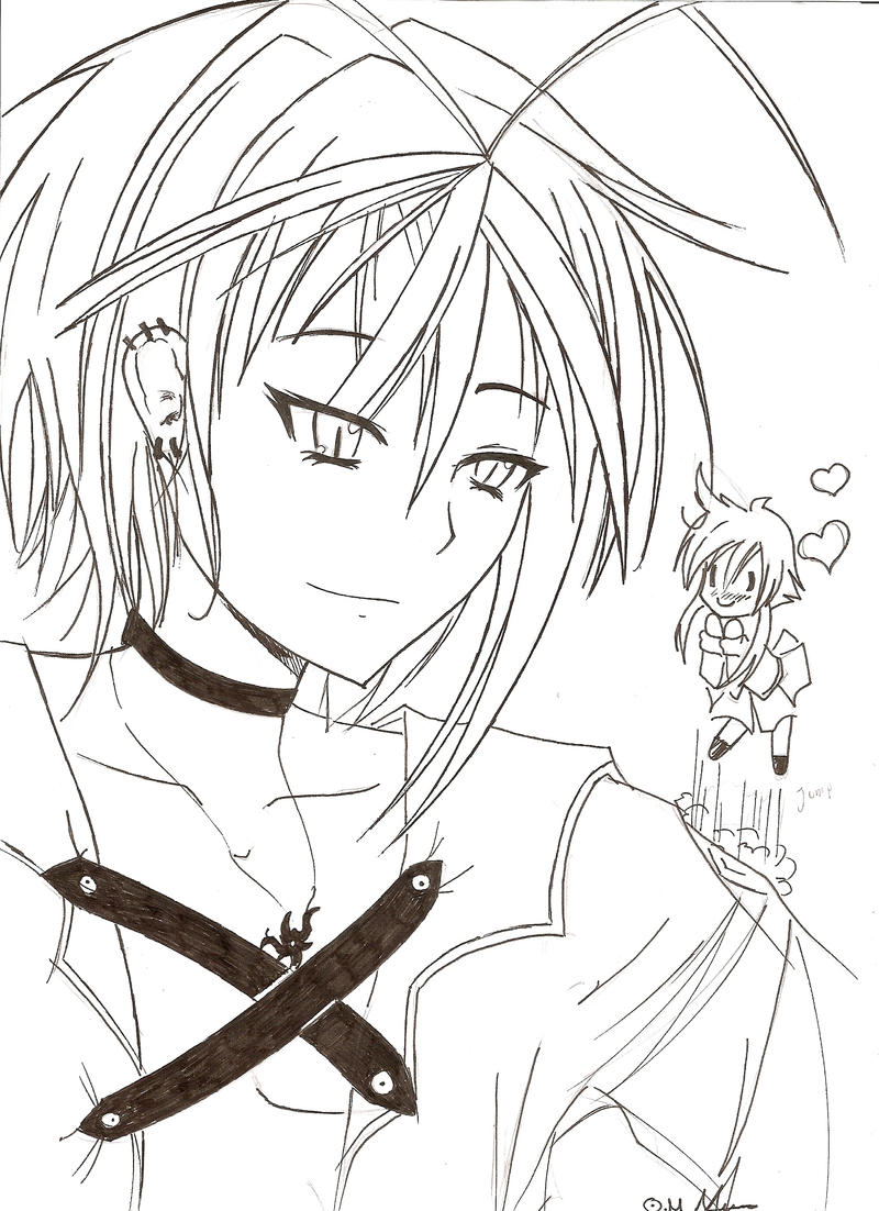Lineart Anime Boy : Anime boy oc line art by razor sensei on deviantart