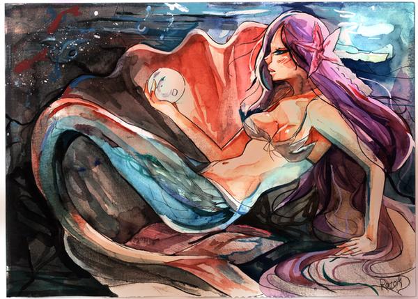 Mermaid by Razor-Sensei
