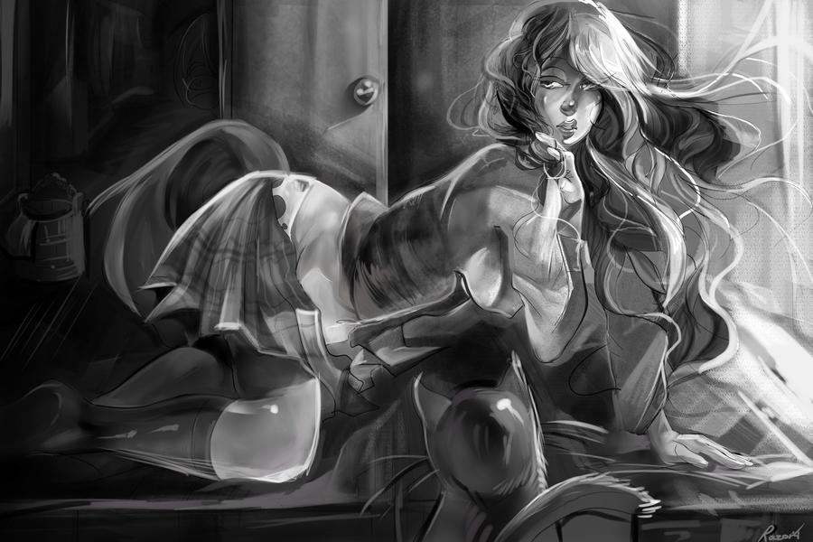 stare by Razor-Sensei