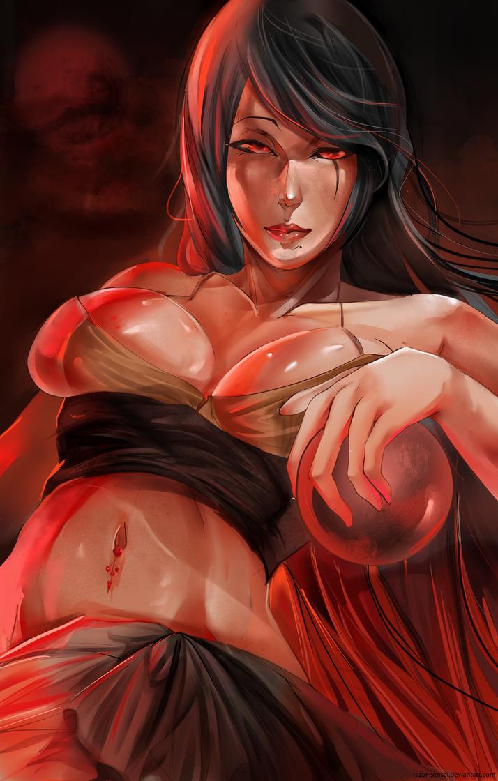 Blood Red by Razor-Sensei