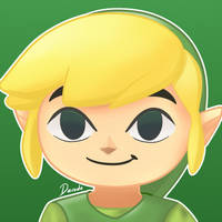 Super Smash Bros Ultimate - Toon Link by darside34