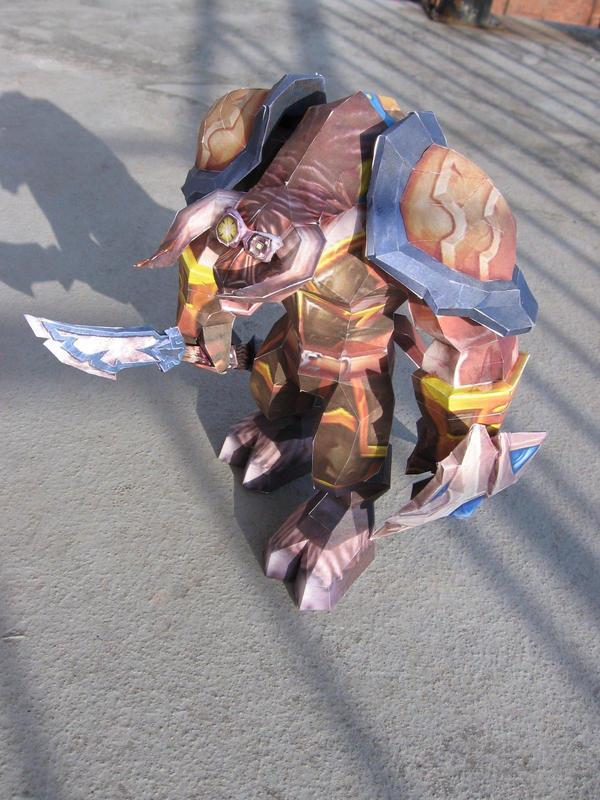Gward - Papercraft Warcraft by P-M-F