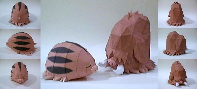 Piloswine + Swinub by P-M-F