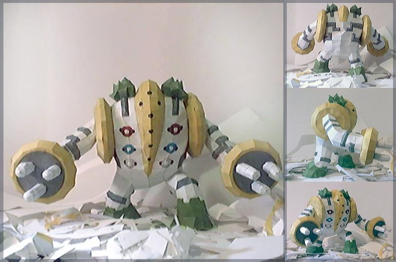 Regigigas Papercraft by P-M-F