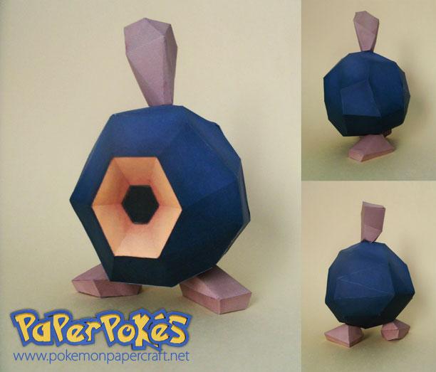 Roggenrola papercraft by P-M-F