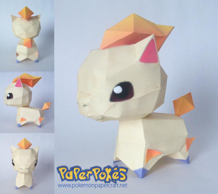 Ponita chibi papercraft by P-M-F