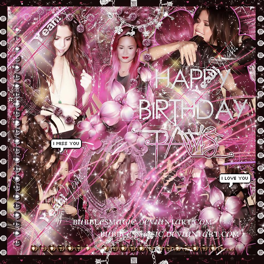 +Happy Birthday Pawis by BubblesMagic