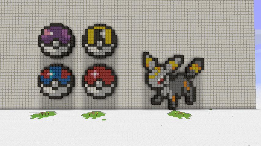 Pixel Art Pokemon Master Ball