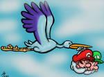 Drew baby Mario and Luigi!!