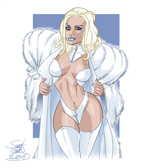 Emma Frost Nude 8