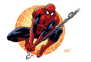 Spider_man swingin' color