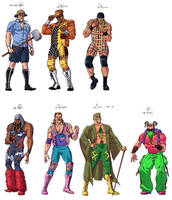 WWE 90's wrestlers that.... by ScottCohn