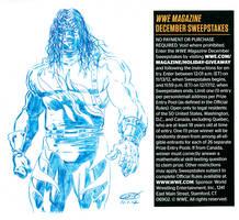 WWE Kane Sketch by ScottCohn