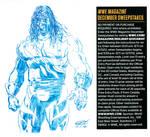 WWE Kane Sketch